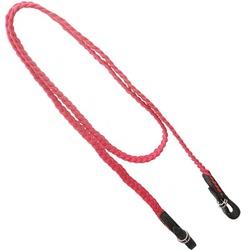 Rédea de Corda Trançada (Vermelha) - Selaria Pinheiro