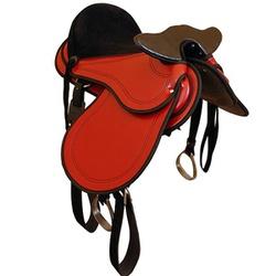Sela Australiana Patusca com Cabeça (Vermelha) - Selaria Pinheiro