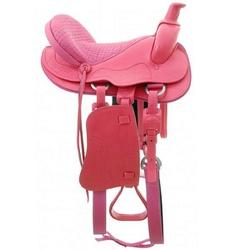 Sela Americana Pinheiro de Luxo (Rosa) - Selaria Pinheiro