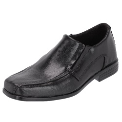 Sapato Social em Couro Infantil cor Preto - SELTENBRASIL