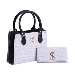 Bolsa Feminina Dubai Selten com Carteira Branca - SELTENBRASIL