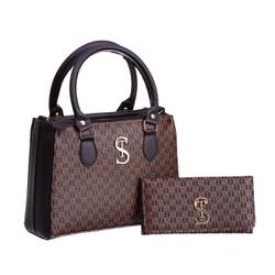 Bolsa Feminina Dubai Selten com Carteira Marrom - SELTENBRASIL