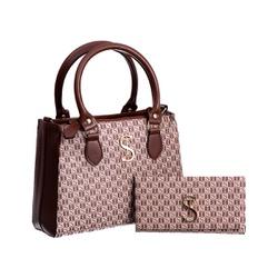 Bolsa Feminina Dubai Selten com Carteira Creme - SELTENBRASIL