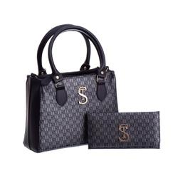 Bolsa Feminina Dubai Selten com Carteira Preta - SELTENBRASIL