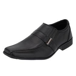 Sapato Social Selten Masculino Preto com forração ... - SELTENBRASIL