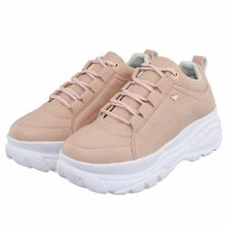 Tênis Feminino Dad Sneaker Buffalo Nude - Selten - SELTENBRASIL