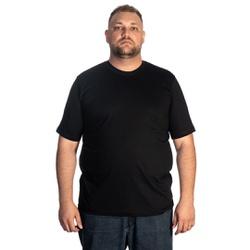 Camiseta Masculina Plus Size Preta -Selten - SELTENBRASIL