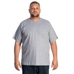 Camiseta Masculina Plus Size Cinza -Selten - SELTENBRASIL