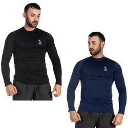 Kit com 2 Camisetas Masculinas com Proteção UV Tér... - SELTENBRASIL