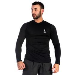Camiseta Masculina com Proteção UV Térmica Preta -... - SELTENBRASIL