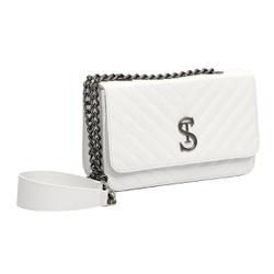 Bolsa Feminina Clutch Selten Florença Branca - SELTENBRASIL