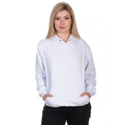 Moletom Feminino Canguru Branco - Selten - SELTENBRASIL