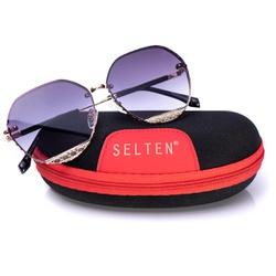 Óculos De Sol Feminino Hexagonal Selten - SELTENBRASIL