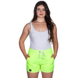 Short Tactel Feminino De Praia Verde Neon Selten - SELTENBRASIL