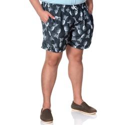 Short Masculino Plus Size Tactel Preto Abacaxi Sel... - SELTENBRASIL