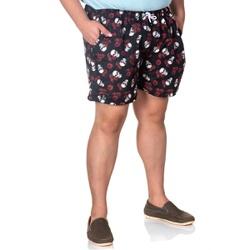 Short Masculino Plus Size Tactel Caveira Selten - SELTENBRASIL