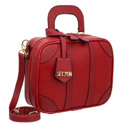 Bolsa Feminina Quadrada Sydney Vermelha - SELTENBRASIL