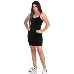 Vestido Feminino Canelado Preto - Selten - SELTENBRASIL