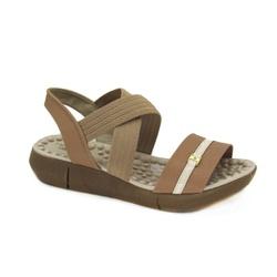 Sandália Feminina Flat Modare 7142102 Moda Conforto - 85724 - Sensação Store