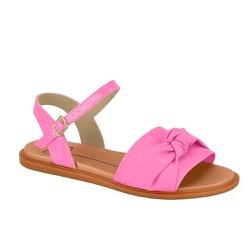 Sandália Feminino Flat Moleca 5450107 Nó - 89127 - Sensação Store