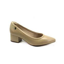 Sapato Scarpin Feminino Modare 7340100 Bege - 86810 - Sensação Store