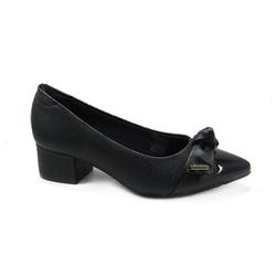 Sapato Scarpin Feminino Modare 7340102 Preto - 86809 - Sensação Store