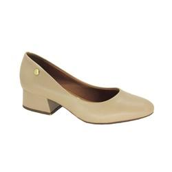 Sapato Scarpin Feminino Vizzano 1346100 Salto Grosso - 86871 - Sensação Store