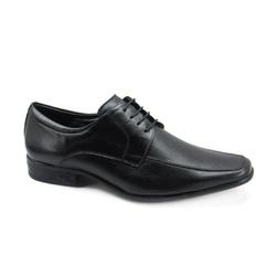 Sapato Social Masculino Jota Pe AIr Magic 77520 Couro Preto - 86405 - Sensação Store