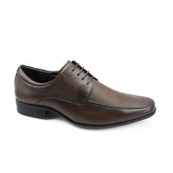 Sapato Social Masculino Jota Pe AIr Magic 77520G Tamanho Especial Marrom - 86409 - Sensação Store