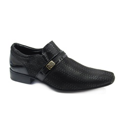 Sapato Social Masculino Jota Pe Air Phoenix 74808 - Preto - 85704 - Sensação Store