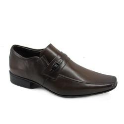 Sapato Social Masculino Jota Pe Air Vinitti 77603 Couro Marrom - 84249 - Sensação Store