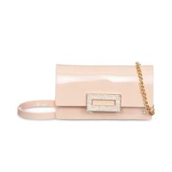 Bolsa Feminina Transversal Petite Jolie Long Wallet PJ10021 Nude - 89609 - Sensação Store