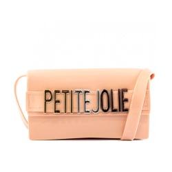 Bolsa Feminina Transversal Petite Jolie Long Wallet PJ5401 Nude - 89607 - Sensação Store