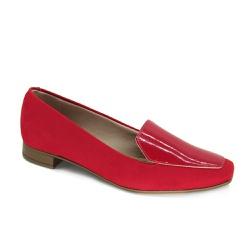 Sapato Mocassim Feminino Beira Rio 4272103 Vermelho - 89484 - Sensação Store