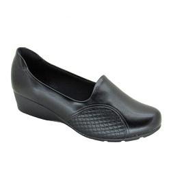 Sapato Anabela Feminino Modare 7014229 Preto - 84328 - Sensação Store