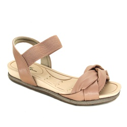 Sandália Flat Feminina Modare 7154107 Nude - 89473 - Sensação Store