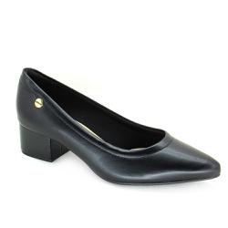 Sapato Scarpin Salto Medio Modare 7340100 Preto - 89268 - Sensação Store