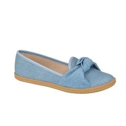 Sapatilha Alpargatas Moleca 5287265 Jeans Azul - 89169 - Sensação Store