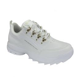 Tênis Feminino Dad Sneaker Ramarim 2175101 Branco - 89537 - Sensação Store
