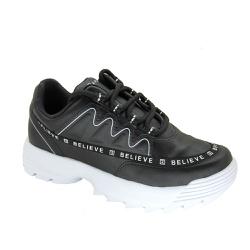 Tenis Feminino Dad Sneaker Ramarim 2175102 Preto - 89538 - Sensação Store
