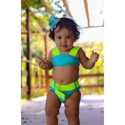 Biquíni Infantil Sereia Cancún Hotpant - 675 - Sereia de Noronha