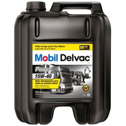 Óleo Motor Mobil Delvac Power 15W40 Balde 20 Litro... - Sermi