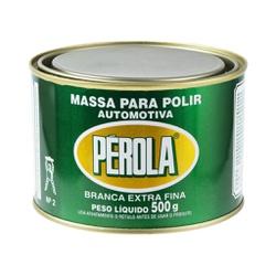 Massa Para Polir Branca Extra Fina Nº2 Pérola 500g... - Sermi