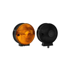 Lanterna Traseira 1 Face (Foguinho) Amarela - Sermi
