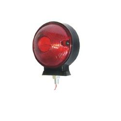 Lanterna Traseira 1 Face (Foguinho) Vermelha - Sermi