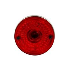 Lente Lanterna Lateral Carreta Flexivel Vermelha - Sermi