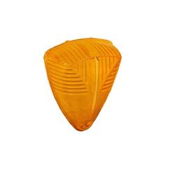 Lente Lanterna Teto MB Ate 88 Amarela - Sermi