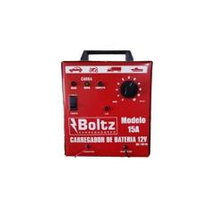 Carregador de Bateria 15AH Amperes 12v Bivolt - Sermi