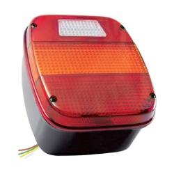 Lanterna Traseira Ford Cargo/ F4000(Quadrada) C/Vi... - Sermi