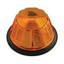 Lanterna Lateral Carreta Pudim 1 Polo Amarela - Sermi